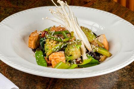 Китайские овощи на воке