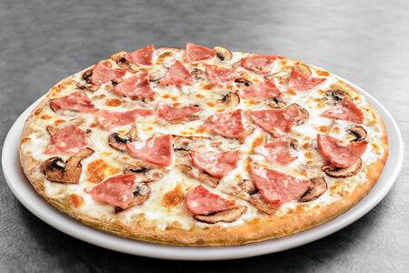 Пицца Ветчина и грибы маленькая