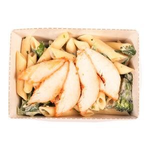 Паста курица-сливочный соус «Хлеб насущный»