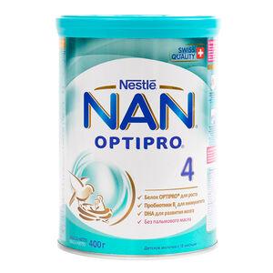 NAN 4 Optipro с 18 месяцев