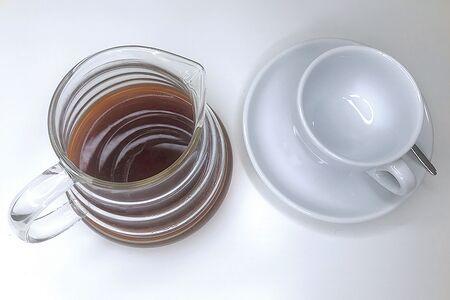Черный кофе Пуровер