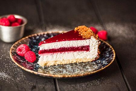 Торт Йогуртово-малиновый