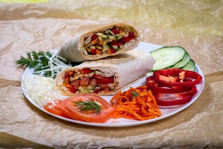 Шаурма Вегетарианская традиционная