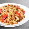 Фото к позиции меню Лапша Удон с овощами и курицей