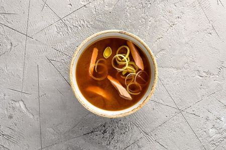 Суп Сяке мисо широ