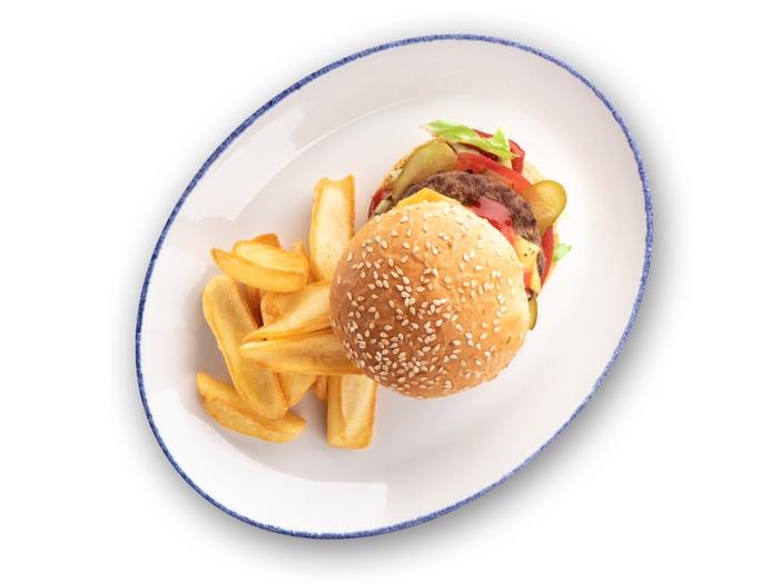 Мини-чизбургер