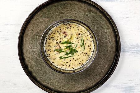 Сливочный суп с вонголе