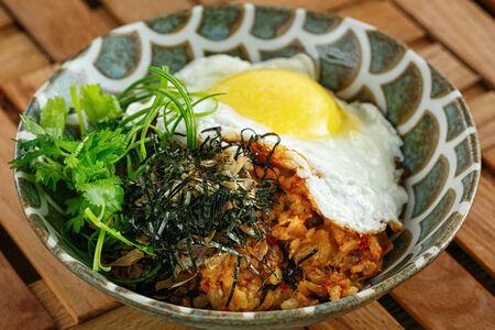 Жареный рис кимчи