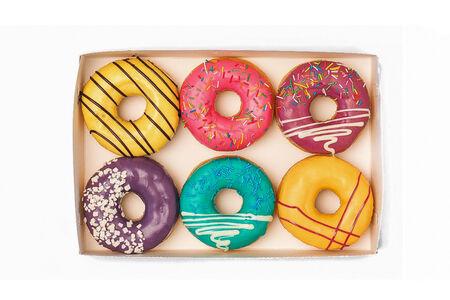Набор из шести пончиков ассорти №1
