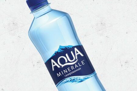 Аква Минерале газированная 0,5