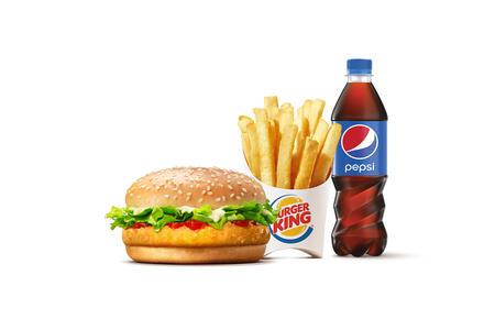 Комбо с Чикенбургером