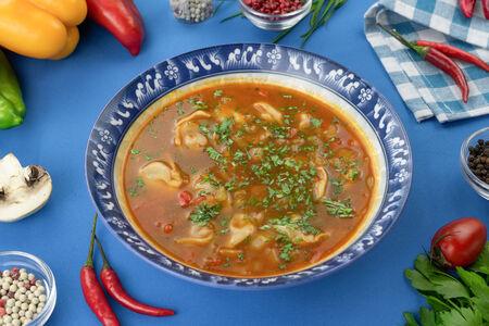 Суп Чучвара по-узбекски