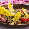 Фото к позиции меню Фреш-салат с печеной свеклой
