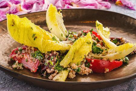 Фреш-салат с печеной свеклой
