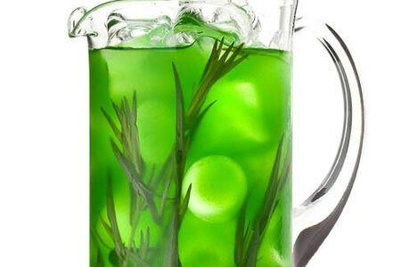Лимонад тархун и маракуйя