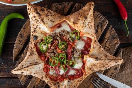 Пицца Звезда с Чили