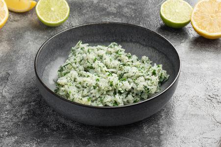 Рис басмати с лимоном и зеленью