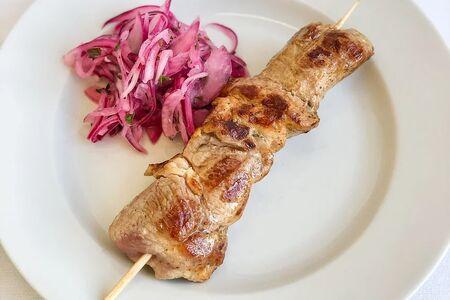 Шашлык из свинины на гриле