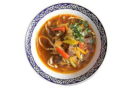 Суп лагман Уйгурский
