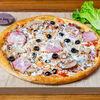 Фото к позиции меню Пицца Свинина и грибы