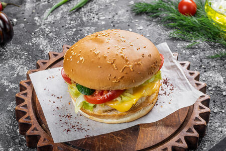 Бургер Треска