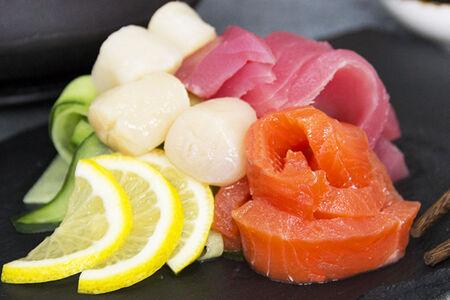 Сашими из морепродуктов