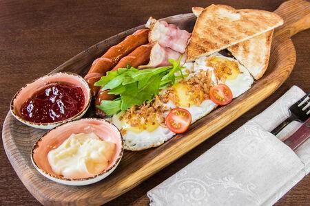 Американский завтрак (Глазунья)