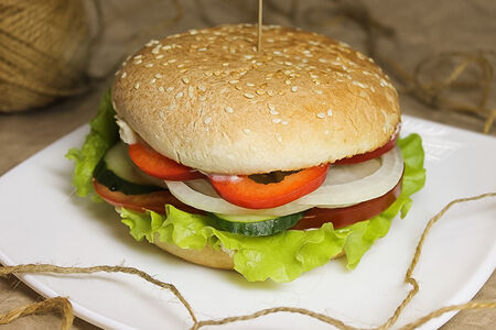 Веганбургер