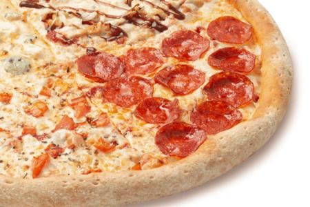 Пицца Папа Микс, сырный борт
