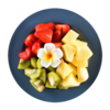Фото к позиции меню Фруктовый микс ананас, киви, клубника Mosaic