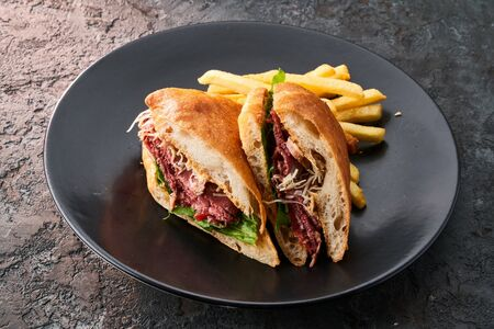 Сэндвич пастрами