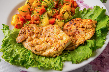 Стейк-филе из курицы