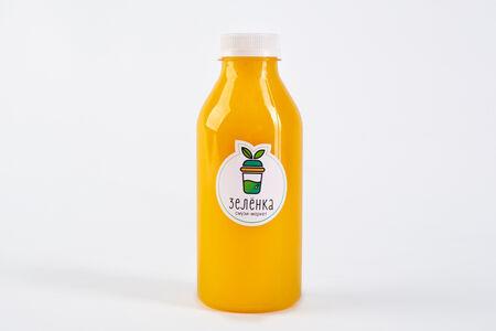 Свежевыжатый сок Апельсин, лимон, куркума