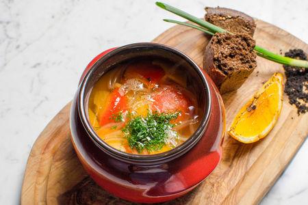 Суп из русского осетра