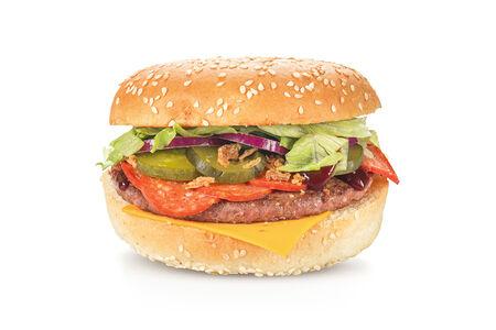 Бургер Пепперони барбекю