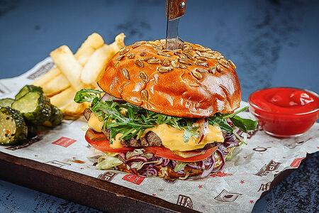 Бургер-стейк
