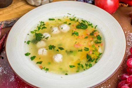 Куриный суп с фрикадельками по-мегрельски