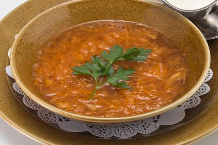 Суп Щи из квашенной капусты