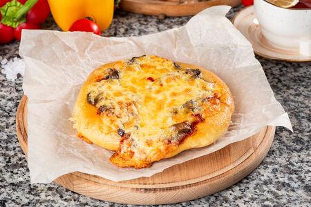 Пицца Домашняя с шампиньонами