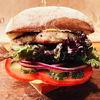 Фото к позиции меню Бургер с цыпленком