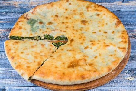 Осетинский пирог с сыром и шпинатом Шпинатджын