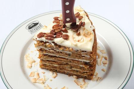 Морковный торт Строганофф