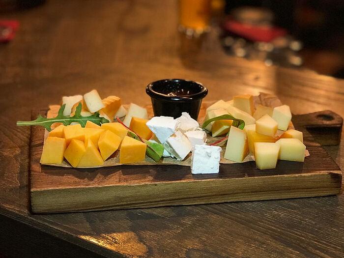 Сет из копченого сыра