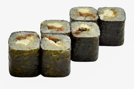 Мини-ролл Угорь-сыр