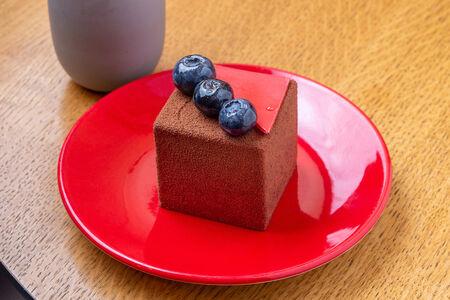 Десерт Вишня в кубе