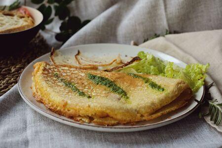 Омлет вегетарианский