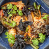Фото к позиции меню Вок Стеклянная лапша с креветками