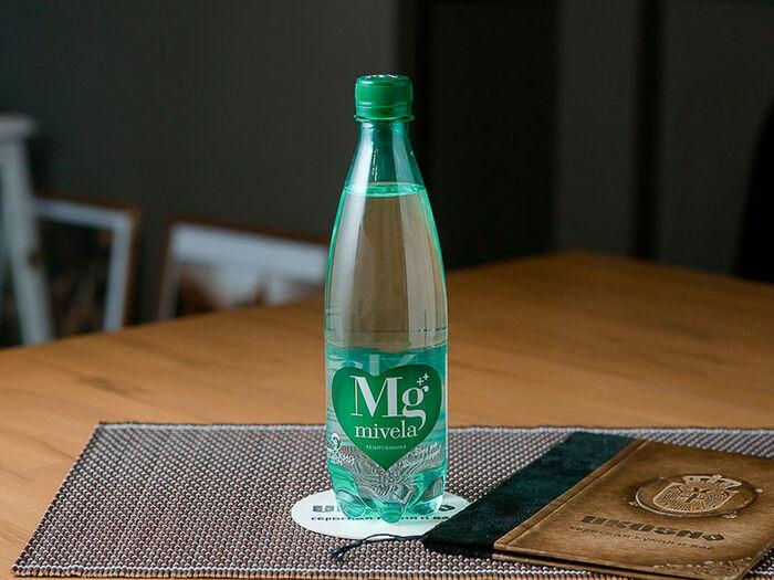 Минеральная вода Mivela MG сильногазированная