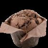 Фото к позиции меню Маффин шоколадный