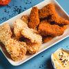 Фото к позиции меню Рыбные наггетсы